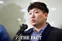 [TF포토] 'KT&G 사장교체·적자국채 압력' 입장 밝히는 신재민