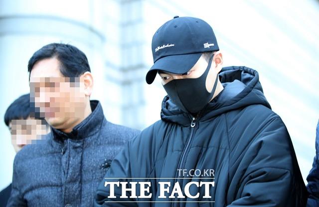 배우 손승원이 지난 해 12월 음주운전을 한 혐의로 검찰에 송치됐다./뉴시스