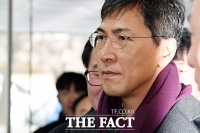 [TF포토] '묵묵부답' 항소심 결심공판 출석하는 안희정