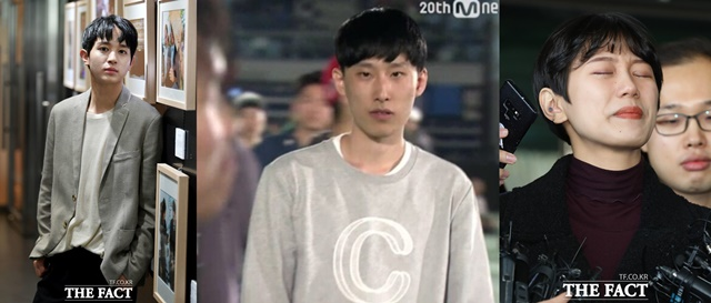 배우 정유안과 래퍼 블랙넛, 유튜버 양예원이 각기 다른 성관련 추문에 휩싸였다./이덕인 기자, Mnet 방송캡처, 뉴시스