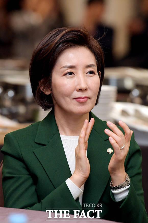 기념식에 참석한 나경원 자유한국당 원내대표