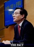 [TF포토] '우리금융지주 출범' 손태승 회장,