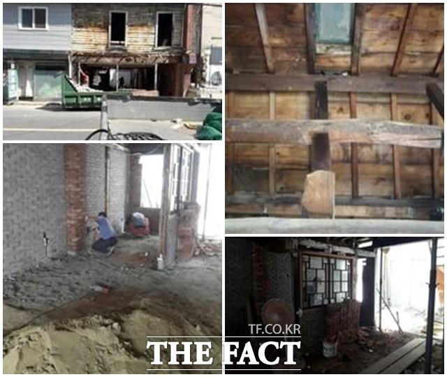 손혜원 의원이 조카와 측근들의 목포 부동산 투기에 관여했다는 의혹이 제기되자 조카 집의 구매 당시 낙후된 상태를 페이스북에 올리며 투기가 아니라고 해명했다. /손 의원 페이스북 갈무리