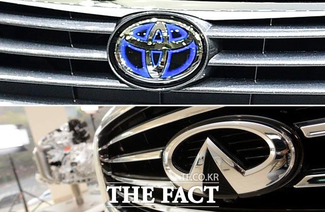 완성차 브랜드 토요타와 닛산이 각각 안전성을 속이고 연비를 부풀려 팔다가 공정거래위원회에 적발됐다. /더팩트 DB