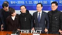[TF포토] '택시-카풀' 사이, 난감한 김현미 장관