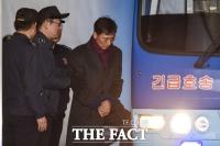 [TF포토] '징역 3년 6개월' 법정구속된 안희정