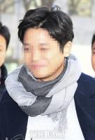 [TF포토] '경찰 출석하는 버닝썬 클럽 폭행 피의자