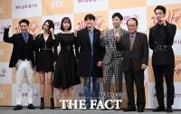 [TF포토] '웃기는 법조 활극'…'리갈하이 제작발표회'