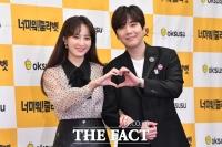 [TF포토] '커플 연기' 정혜성-이홍기, '현실에서도 다정다감'
