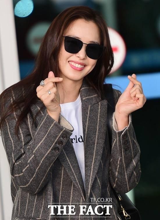 이하늬는 10일 방송된 SBS 예능 미운우리새끼에 특별 게스트로 출연, 서장훈과 입담을 나눴다. /더팩트 DB