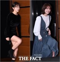 [TF포토] 김가은-한지민, '눈 부시게 아름다운 미녀들의 패션'