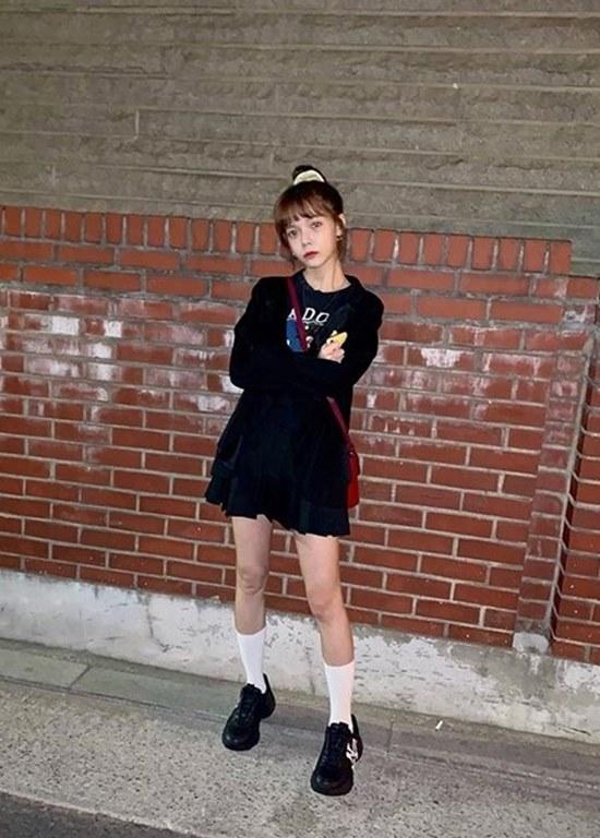 그룹 AOA 멤버 지민은 12일 인스타그램에 근황이 담긴 사진을 공개했다. /지민 인스타그램