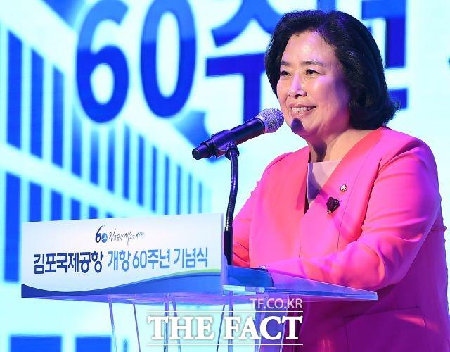 박순자 한국당 의원은 최근 자기 아들을 입법보조원으로 등록, 국회 출입을 편법으로 출입증을 발급했다는 의혹이 불거졌다. /임세준 기자