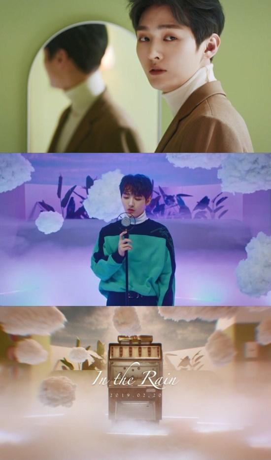 윤지성의 솔로 데뷔곡  티저 영상이 공개되며 팬들의 기대감을 자아낸다. /LM 엔터테인먼트