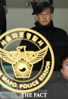 [TF포토] '19시간 넘는 경찰 조사 마치고 귀가하는 손석희 대표'