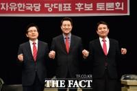 [TF초점] 황교안·오세훈·김진태, 유튜브 토론회서 '기승전朴'