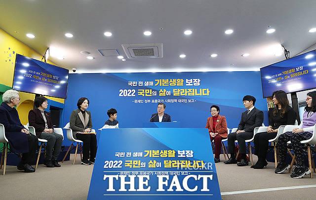 문재인 정부 포용국가 사회정책 대국민 보고