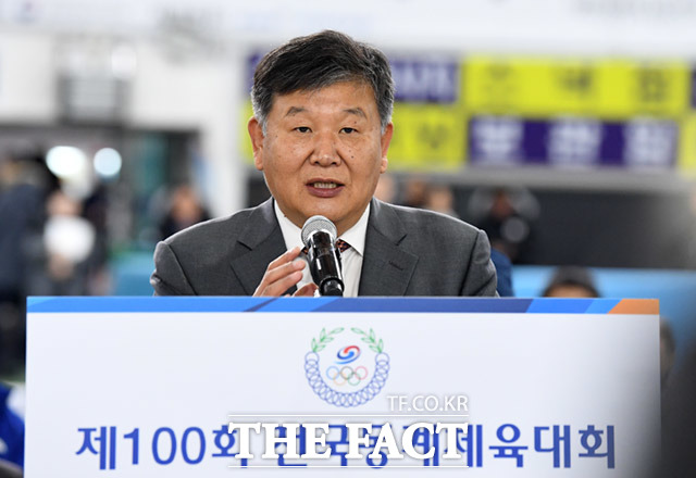 축사하는 노태강 문화체육관광부 제2차관
