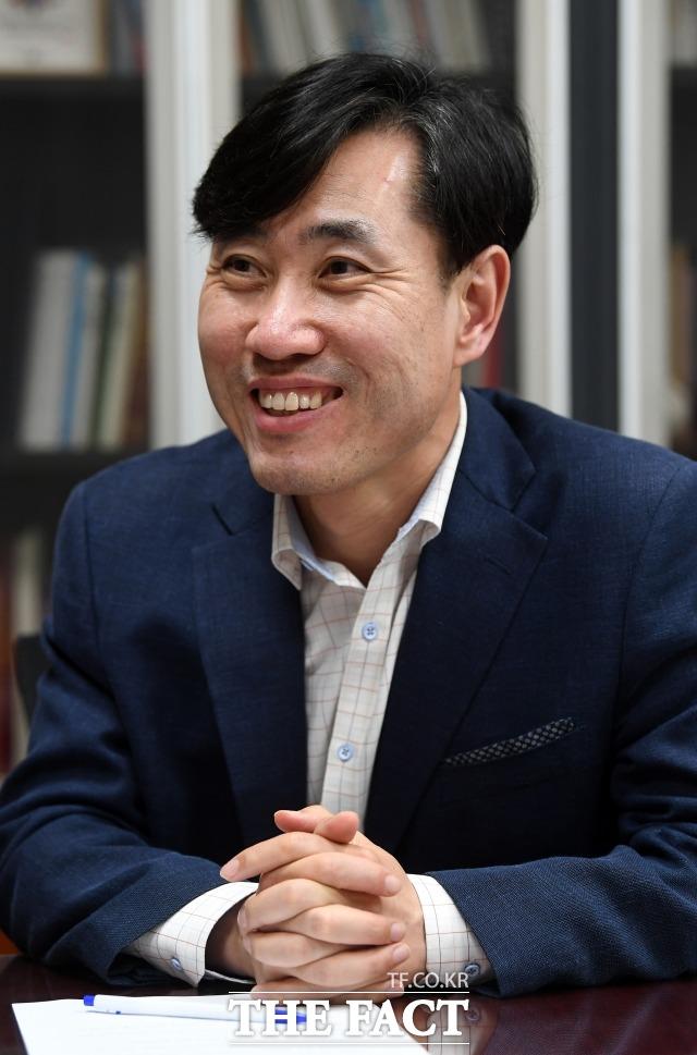 하태경 바른미래당 의원이 5·18 민주화운동 진상규명에 적극 나서면서 바른미래당에 긍정적인 영향을 줄 수 있다는 분석이 나오고 있다. /임영무 기자