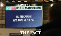 [TF포토] '천장 누수'로 지연된 동계체전 스피드 스케이팅