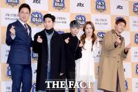 [TF포토] 특별운동전담반이 모였다…JTBC 新예능 'SKY 머슬'