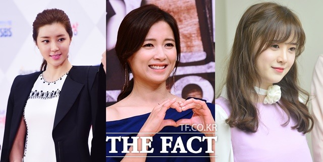 배우 박한별, 남상미, 구혜선은 원조 얼짱 연예인으로, 지금까지 꾸준히 연예계에서 활동하고 있다. /이선화 기자, 더팩트 DB