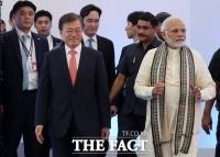 인도 모디 총리, 靑 오찬에 이재용·정의선 초청