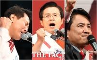 [TF사진관] '누가 더 호소력이 있나요?'…당대표 후보들의 '3인 3색 연설'