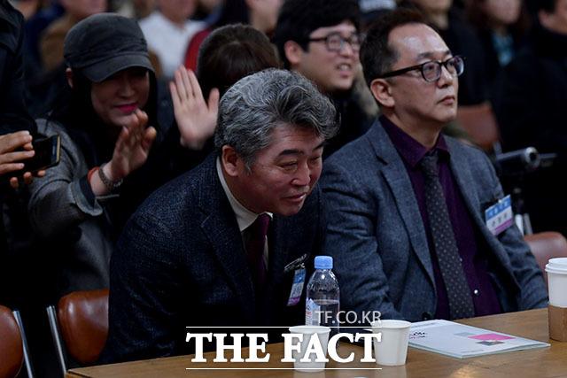 신임 이사장으로 선출된 오태근 후보.