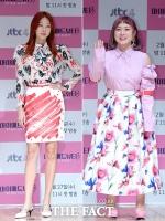[TF포토] 한혜진-박나래, '두 언니의 봄패션 키워드는? 화려함!'