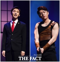 [TF포토] 윤지성-남우현, '이제는 뮤지컬돌이라고 불러주세요~'