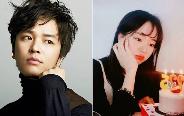 김정훈(왼쪽)이 전 여자친구로부터 피소를 당했다. TV조선 예능프로그램 연애의 맛으로 인연을 맺은 김진아는 괜찮다며 입장을 밝혔다. /크리에이티브광 제공, 김진아 인스타그램