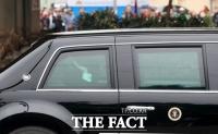 [TF포토] '베트남 떠나는 트럼프 대통령'