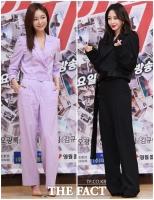 [TF포토] '상큼 vs 섹시' 신소율-한예슬, '같은 패션 다른 느낌!'