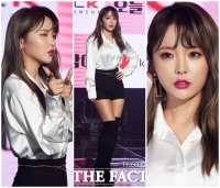 [TF포토] '몸매+미모+애교'… 홍진영, 자기 관리의 '끝판왕'