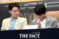[TF사진관] 붐, '주헌의 촉촉한 입술은 내가 챙긴다!'