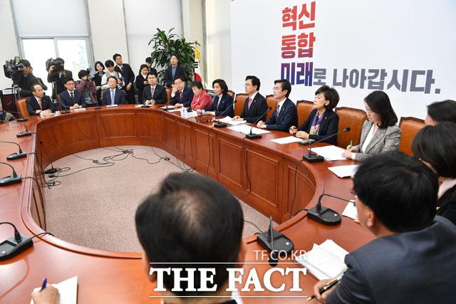 자유한국당의 최고위원회의