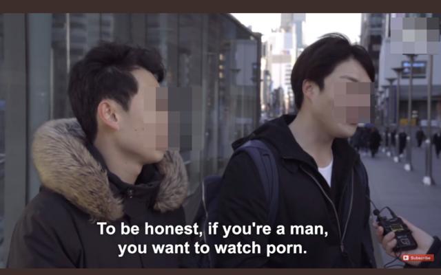 남자들은 그런 대화를 한다. 정준영이 안타깝다고 인터뷰하는 시민들. /영상 캡처