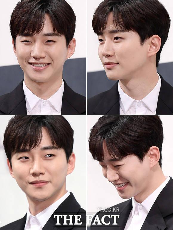그룹 2PM의 준호가 15일 오후 서울 강남구 임피리얼팰리스 서울에서 열린 tvN 토일드라마 '자백' 제작발표회에 참석해 포즈를 취하고 있다. /이선화 기자