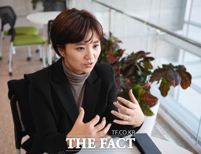 김소연 대전시의원은 13일 더팩트 취재진을 만나 바른미래당 입당 배경과 지난 지방선거 이후 불거진 불법 선거자금 요구 의혹에 관한 이야기를 나눴다. /배정한 기자