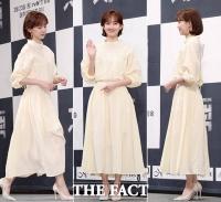 [TF포토] 신현빈, '우아하고~ 청순하게! 연노랑 원피스 패션'