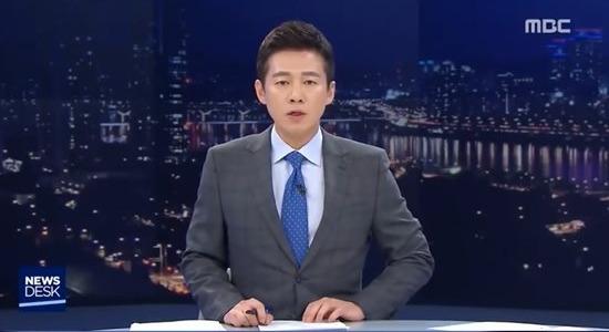 MBC 뉴스데스크의 왕종명 앵커. 그는 18일 오후 방송된 뉴스데스크에서 윤지오에게 무리한 인터뷰를 시도해 누리꾼의 뭇매를 맞고 있다. /MBC 방송캡처