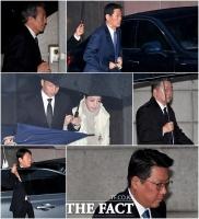 [TF포토] 고 정주영 회장 18주기…'한자리에 모인 범 현대가'