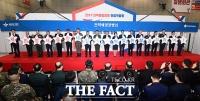 [TF포토] 장병들의 일자리를 책임진다!..'2019 전역예정장병 취업박람회 개막'