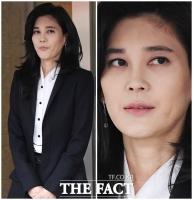 [TF포토] 근심 가득한 얼굴로 주주총회 참석한 이부진 사장