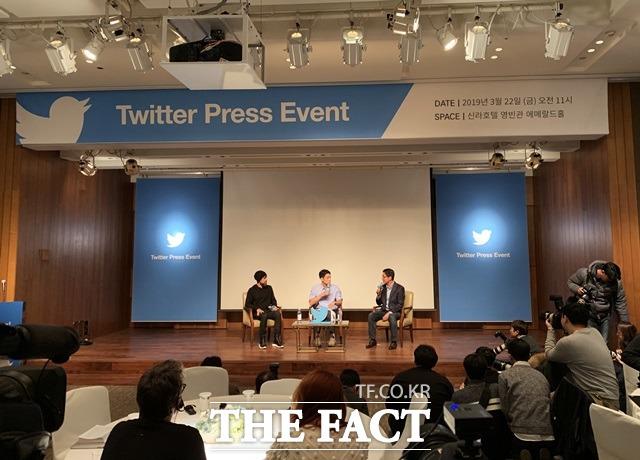 [TF현장] 잭 도시 CEO '트위터는 가장 대중적인 플랫폼…AI로 가짜뉴스 관리'