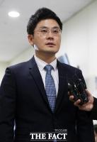 [TF포토] '위기의 YG'...주총에 참석한 양민석 대표