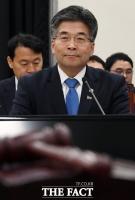 [TF포토] 국회 정보위 출석한 민갑룡 경찰청장