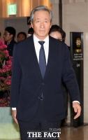 [TF포토] 조양호 회장 빈소 향하는 정몽준 이사장