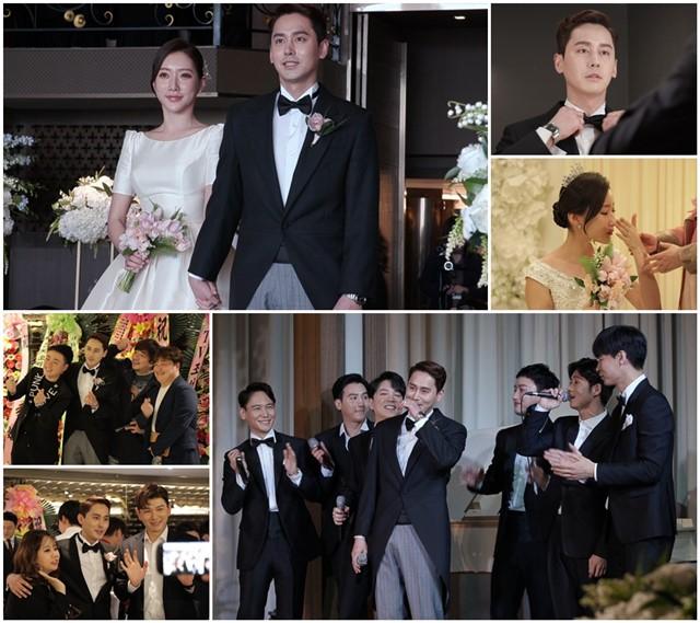 '아내의 맛'의 16일 방송분에서는 지난 8일 펼쳐진 김상혁과 송다예의 결혼식 현장이 전파를 탈 예정이다.  /TV CHOSUN 제공